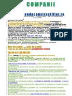 Index Companii Agenda 2012