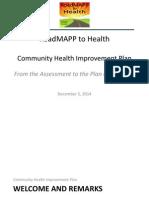 RoadMAPP Presentation - Dec. 5, 2014