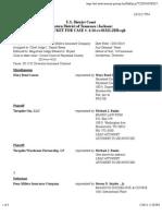 TURNPIKE GIN, LLC et al v. PENN MILLERS INSURANCE COMPANY docket