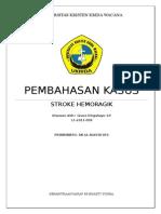 Case Stroke Hemoragik