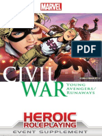 Marvel Heroic RPG Civil War Young Avengers/Runaways