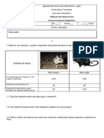 Ficha Avaliação Diagnóstica 8ºPCA