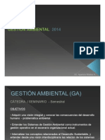 Gestion Ambiental -Introducción Problemática Ambiental