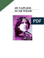 Wilde Oscar -Sin Tapujos
