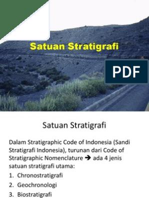 stratigrafiske dating teknikker
