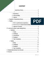 Analyzing 2 Motivation Theories in Organizational Behavior