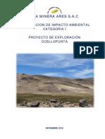 Declaracion Impacto Ambiental Ccellopunta