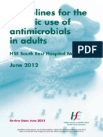 HSE SE Antibiotic Guidelines 2012 Booklet