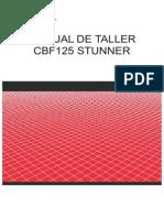 Manual de servicio CBF125 Honda CBF Stunner