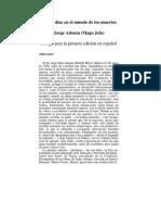 Adoum Jorge - Veinte Dias en El Mundo de Los Muertos