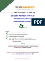 Caderno Teoria e Exercicios-poderes-Administrativos Esaf