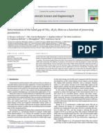 Determinação Do Gap Usando Parametros Indiretos
