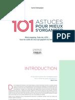 Intro Livre 101 astuces pour mieux s'organiser Xavier DELENGAIGNE