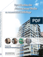 General Specification for Building Maintenance Works in Residential Buildings