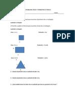 Guía Problemas Áreas y Perímetros 6º Básico 15-10