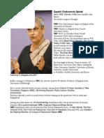 Gayatri Chakravorty Bio