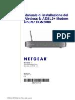 Netgear DGN2000 Setup Manual Italian