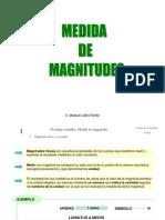 MEDIDA DE MAGNITUDES