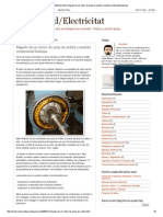 Electricidad_Electricitat_ Megado de Un Motor de Jaula de Ardilla y Medida Continuidad Bobinas
