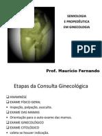 Semiologia Consulta ginecológica