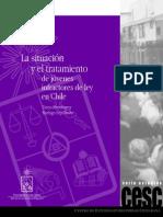 infractores a ley penal juvenil en Chile