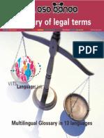 Glosario Multilenguaje de Términos Jurídicos - JPR504