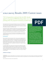 Us Aers IFRS SurveyCurrent Issues 1009