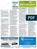 Pharmacy Daily for Tue 09 Dec 2014 - Paperless trial at St Stephen's, Guild S3 training, 400th Priceline Pharmacy, NZ Ebola response, and much more