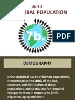 unit 3-global population