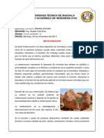 Investigacion geologia