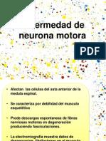 Enfermedad de Neurona Motora