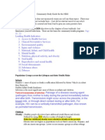 Community HESI Study Guide