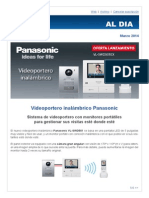 Panasonic Videoportero