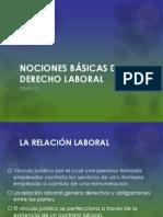 12. Nociones Básicas de Derecho Laboral