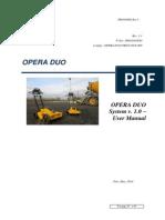 Opera Duo User Manual