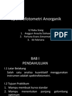 Spektrofotometri Anorganik
