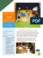 lab school exhibition newsletter