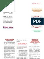 Marco Legal de Trabajo Seguro en Colombia