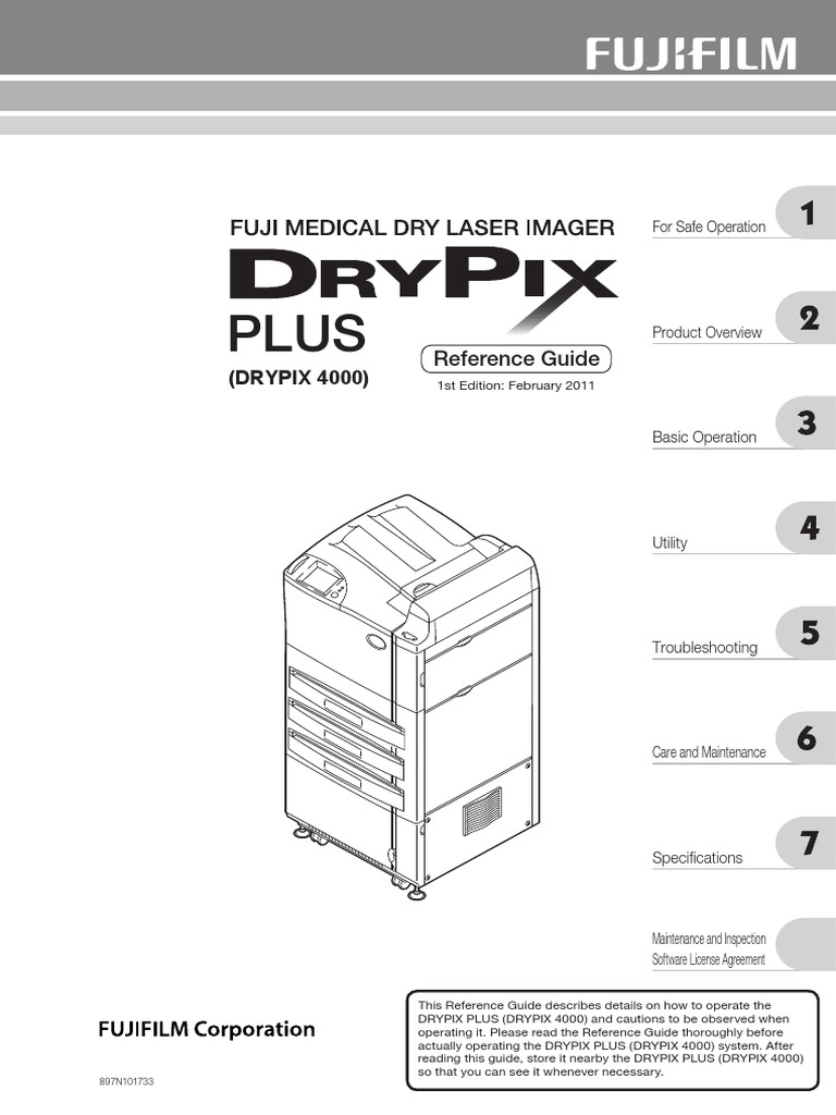DRYPIX 4000 SERVICE MANUAL PDF