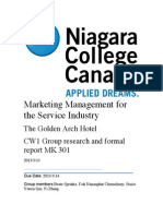 marketing management for the service industry
