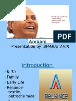 Biography of Dhirubhai Ambani