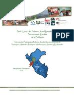 Perfil Local de Pobreza Rural Basado en las Percepciones Locales