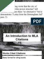 benedict- ap english - citation powerpoint
