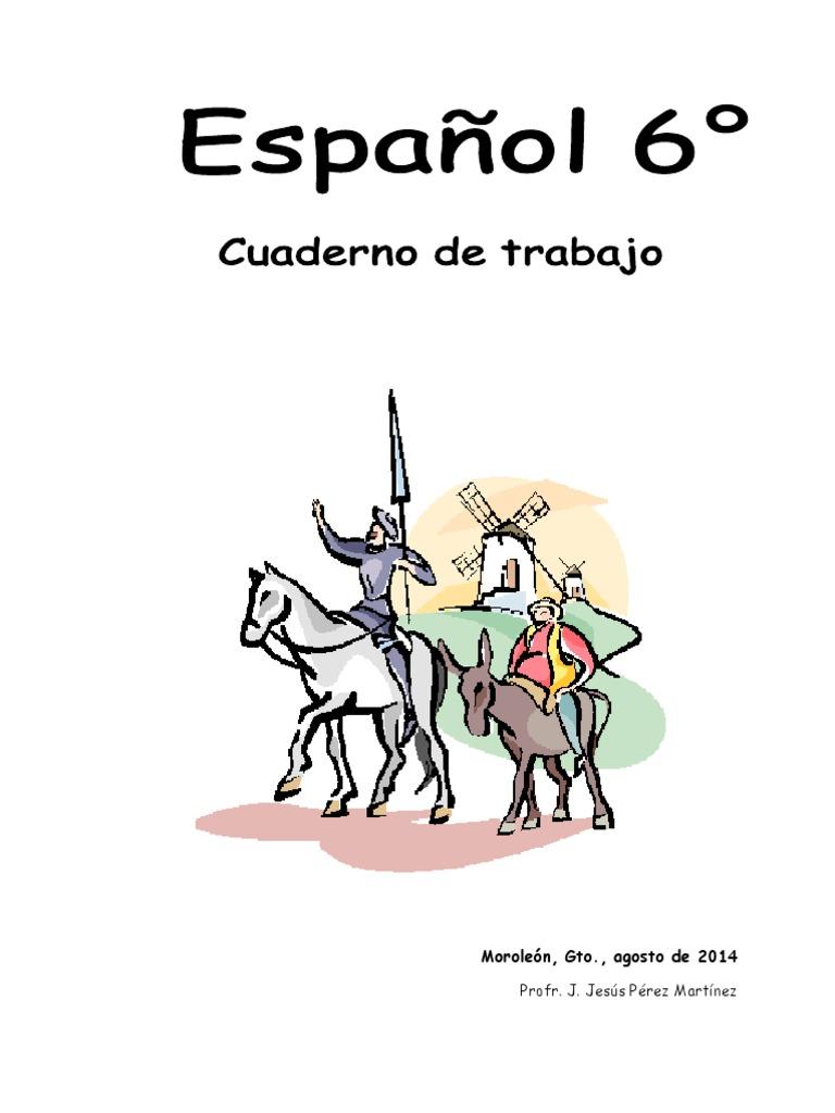 1 Español 6° 2014-2015