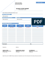 Form a8-1 Selling Report - Sbmsc