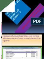 Instalación Del Sistema Operativo Windows 7