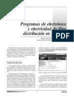 Programas de Electrónica y Electricidad de Libre Distribución en Internet