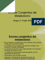 Errores Congénitos del Metabolismo