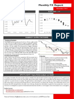 Monthly FX Report - November 2014