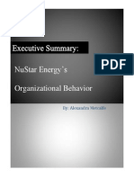 executive summary org